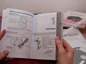 Návod samozřejmě obsahuje i instrukce pro začátky se zařízením