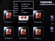 OSD Toshiba