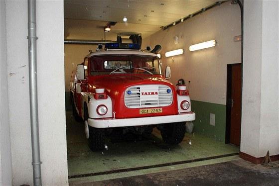 Hasičská Tatra T148