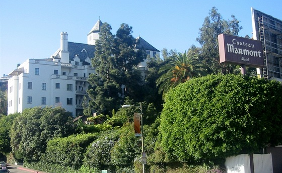 Chateau Marmont, Los Angeles, Kalifornie