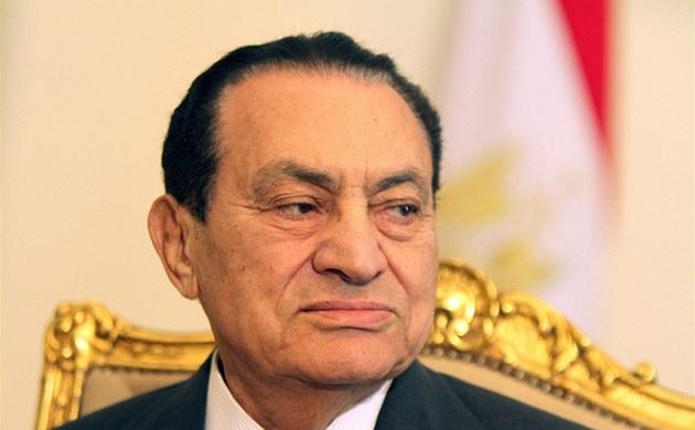 Husní Mubarak na snímku z 8. února 2011