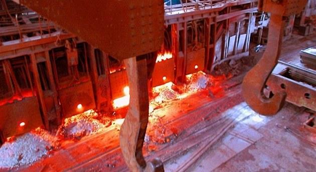 Strojírenská skupina Alta. Magnitogorský metalurgický kombinát (MMK). Ilustra�ní foto