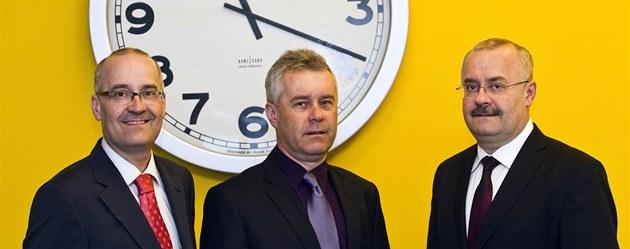 Majitelé firmy Walmark. Zleva Adam, Mariusz a Valdemar Walachovi.