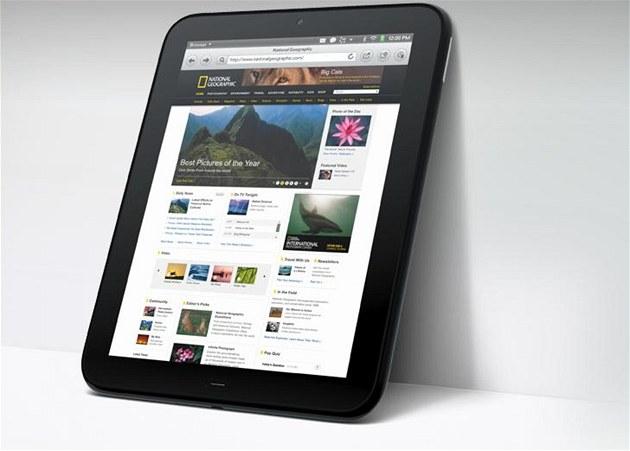 Nový tablet TouchPad od HP pracuje s opera�ním systémem WebOS.