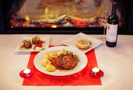 Valentýnské menu pro větší jedlíky