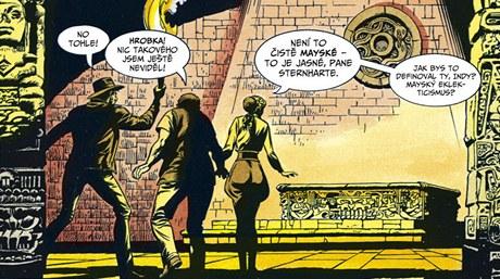 Z komiksu Indiana Jones