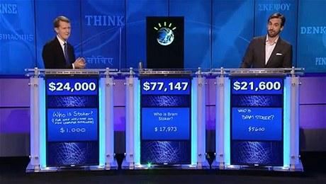 Superpočítač Watson vyhrál třídenní soutěž Jeopardy nad nejlepšími lidskými soutěžícími všech dob