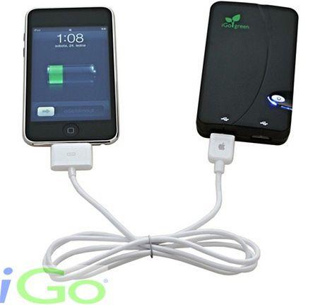 Chytrá nabíječka dobíjí všechny mobilní přístroje