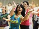 Zumbathonu v českobudějovické sportovní hale se zúčastnilo 260 tanečníků.