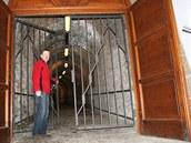 Brána pivovaru v Dobrušce