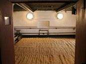 Původní dvoulískový hvozd na sušení sladu v pivovaru v Dobrušce