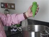Další výraznou ingrediencí je limetková šťáva