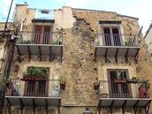 Typický dům v Palermu