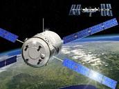 Loď ATV-2 známá jako Johannes Kepler veze náklad pro ISS