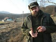 Danielu Pitkovi se nelíbí plánovaná výstavba domků v Milešově na Litoměřicku.