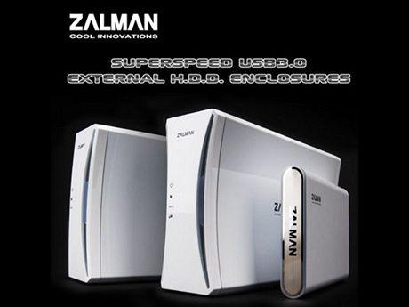 Zalman externí boxy