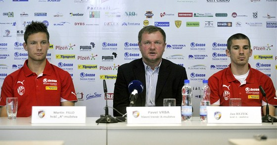 Zleva Martin Fillo,  Pavel Vrba a Jan Rezek