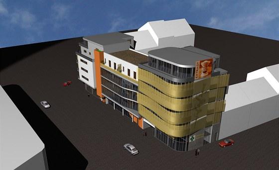 "Studie nového ""zlatého domu""  v Plzni na Belánce"