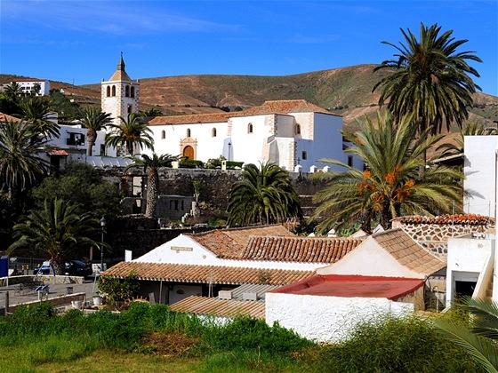 Betancuria bývala hlavním městem ostrova