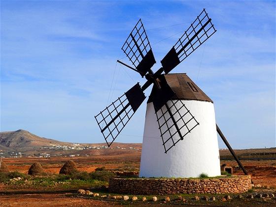 Větrný mlýn vLlanos de la Concepción