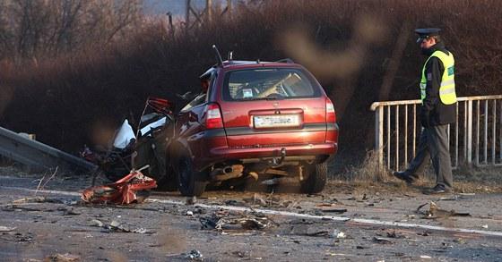 Tragická nehoda u Jaroměře (23. února 2011)