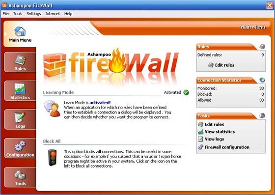 Ashampoo FireWall