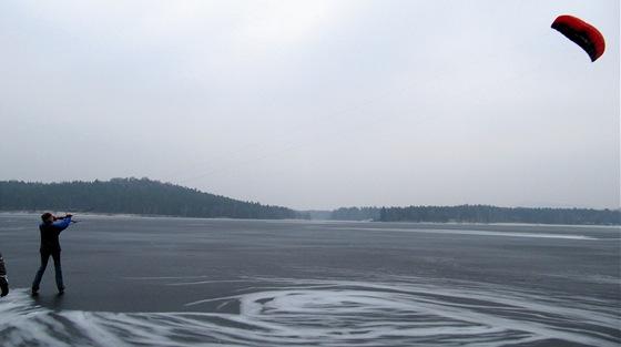 Máchovo jezero s drakem