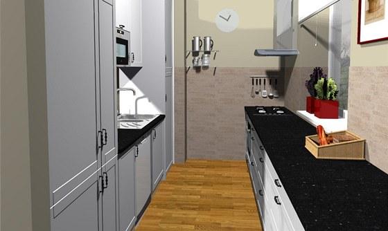 Jak zařídit obývací kuchyni pro rodiče a dvě malé děti