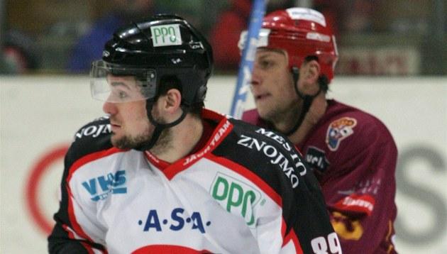 Vlevo je Jan Lattner ze Znojma, za ním jihlavský Pavel Stan�k.