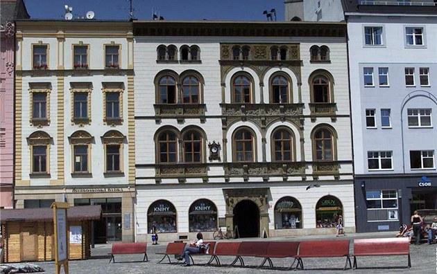 Edelmann�v palác na Horním nám�stí v Olomouci.