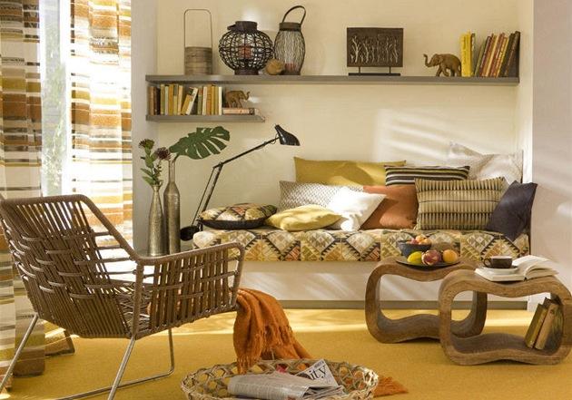 Bydlení ve stylu maroka vybavení je spíše jednoduché foto