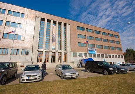 Budova Národního technického muzea stojí v Praze na Letné.