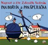 Zdeněk Svěrák: Pan Buřtík a pan Špejlička (obal audioknihy)