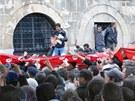 Protesty v Tunisku (21. �nora 2011)