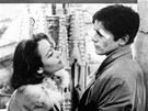 Annie Girardotová a Alain Delon ve filmu Rocco a jeho bratři (1960).