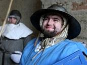 Na nádvoří brtnického zámku se vrátili šermíři.