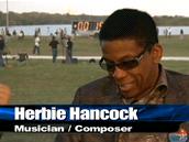 Poslední start Discovery sledoval i Herbie Hancock
