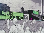 Vizualizace kulturn�ho centra na Sv�tovaru.