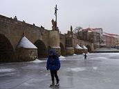 Otava pod mostem