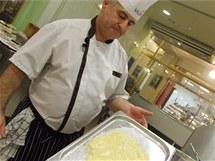 Šéfcukrář Jean Francois Musso a žloutkový krém