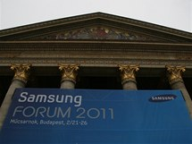 Samsung Forum 2011 v Budapešti