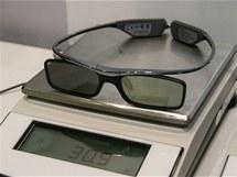 Lehoučké 3D brýle s možností dioptrické korekce