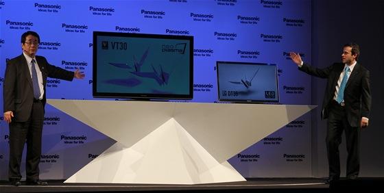 Vlajkovou lodí je neo plazma VT30. Nově se Panasonic vrhl i na LCD televize s LED podsvícením.