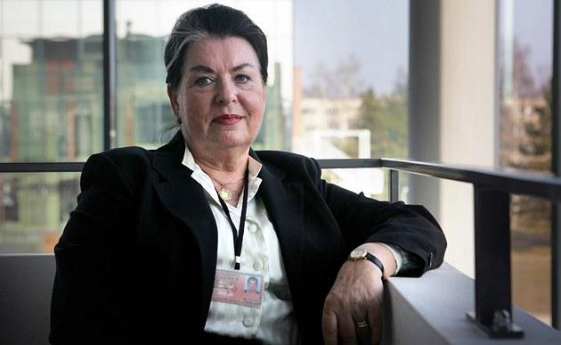 Nová rektorka Jiho�eské univerzity Magdalena Hrabánková.