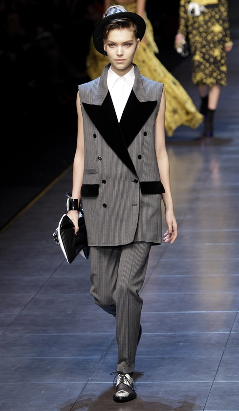 Mil�nsk� fashion week - přehl�dka Dolce & Gabbana podzim-zima 2011/2012
