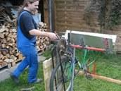 Cirkulárka z jízdního kola