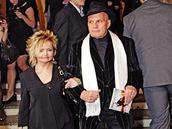 Jan P�eu�il s man�elkou - �esk� lev 2010