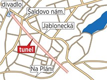 Tunel v Liberci