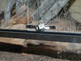 U jedovatých plazů musí být tvrzené sklo zabezpečené zámkem