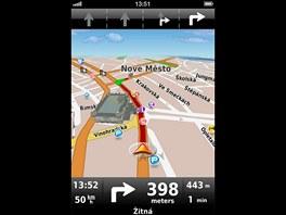 Navigace Dynavix pro iPhone